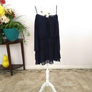 My story blue mini dress size medium